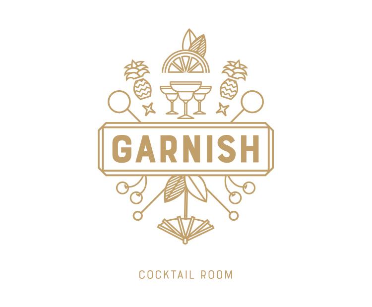 Garnish Cocktail Bar Brand identity, logo design, print Branding for Garnish Cocktail bar in Tel Aviv. Design Shop by Dan Michman, Graphic designer, branding, brochures, posters, catalogs, books, corporate identity, Internet and web design. עיצוב גרפי, מיתוג, פרינט, מדיה דיגיטלית, אריזות, עיצוב לוגו, קטלוגים, ספרים