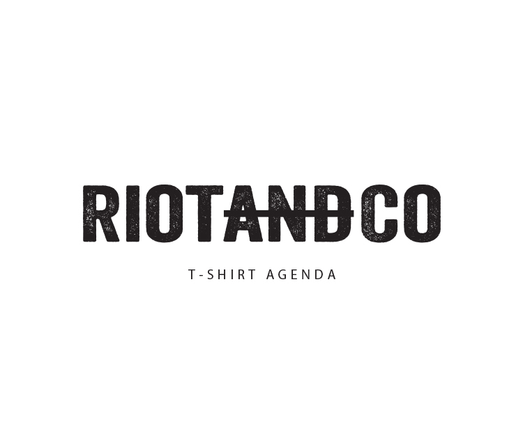Riotandco Fashion Store Brand identity, logo design, print & digital Branding and website design for a unique online fashion store, focusing on edgy political t-shirts designs from designers across the globe. Design Shop by Dan Michman, Graphic designer, branding, brochures, posters, catalogs, books, corporate identity, Internet and web design. עיצוב גרפי, מיתוג, פרינט, מדיה דיגיטלית, אריזות, עיצוב לוגו, קטלוגים, ספרים