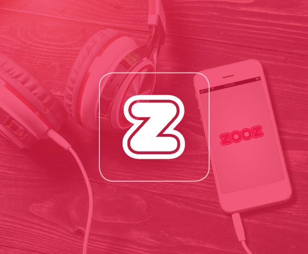 Zooz, App, Brand identity, logo design, App design, App design for a start-up App enabling people to create and share playlists with multiple users. Design Shop by Dan Michman, Graphic designer, branding, brochures, posters, catalogs, books, corporate identity, Internet and web design. עיצוב גרפי, מיתוג, פרינט, מדיה דיגיטלית, אריזות, עיצוב לוגו, קטלוגים, ספרים