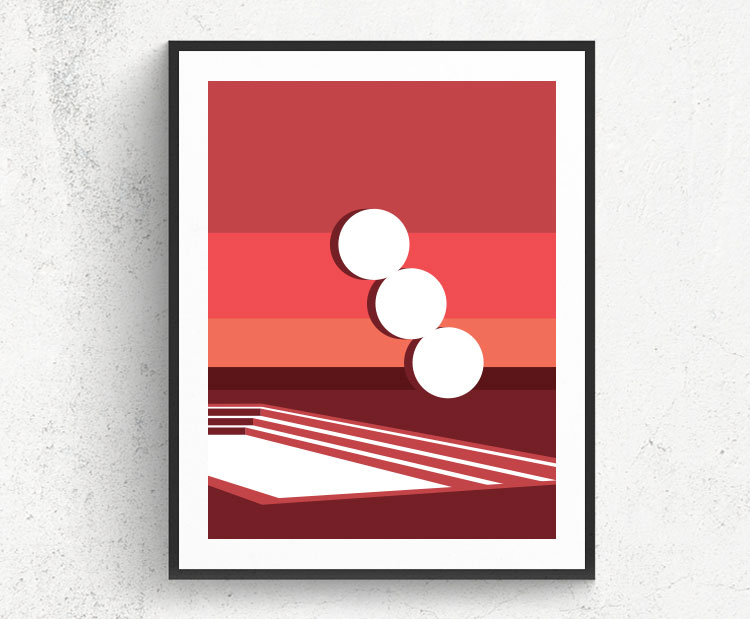 Graphic design for a poster and vector illustration print of Habima square in Tel Aviv. Designed as a series of graphic design illustrations posters and prints of abstract Tel Aviv landmarks